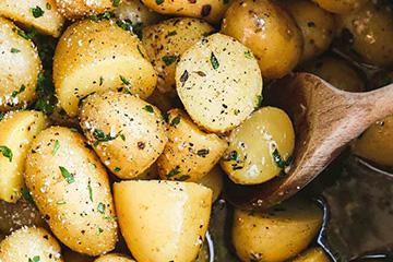 North Devon Hog Roast Potatoes